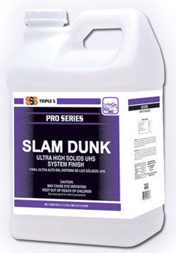 Sss Slam Dunk 25 Ultra High Solids Uhs System Finish 2x2