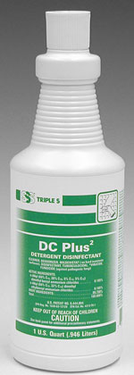 Sss Dc Plus 2 Detergent Disinfectant Rtu 1 Qt 12 Cs