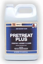 SSS PreTreat Plus HD Prespray and Bonnet Cleaner, 1 gal., 4/cs