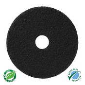 "SSS 17"" Black Stripping Floor Pad"