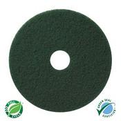 "SSS 13"" Green Scrubbing Floor Pad"