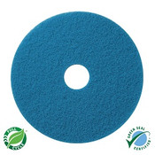 "SSS 13"" Blue Cleaning Floor Pad, 5/"