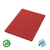 "SSS 14""x20"" Red Square Edge Floor P"