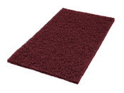 "SSS 14""x20"" Eco1000 Maroon Strip-Pr"
