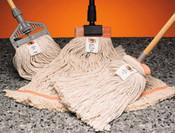 "SSS 4 Ply Cotton Wet Mop, 5"" Headba"