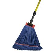 "SSS Industrial Looped Wet Mop, 5"" H"