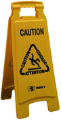 "SSS 6112-74 ""Caution"" Floor Sign, M"