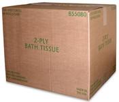von Drehle Bath Tissue,2-Ply,80/550